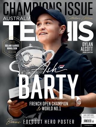 "Magazine cover of August / September 2019 issue ""Champions Issue"""