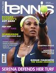 "Magazine cover of June 2013 issue ""Serena defends her turf."""