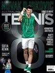 "Magazine cover of February / March 2020 issue ""2020 Australian Open Review"""